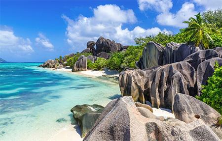 остров Праслин, Сейшелы
